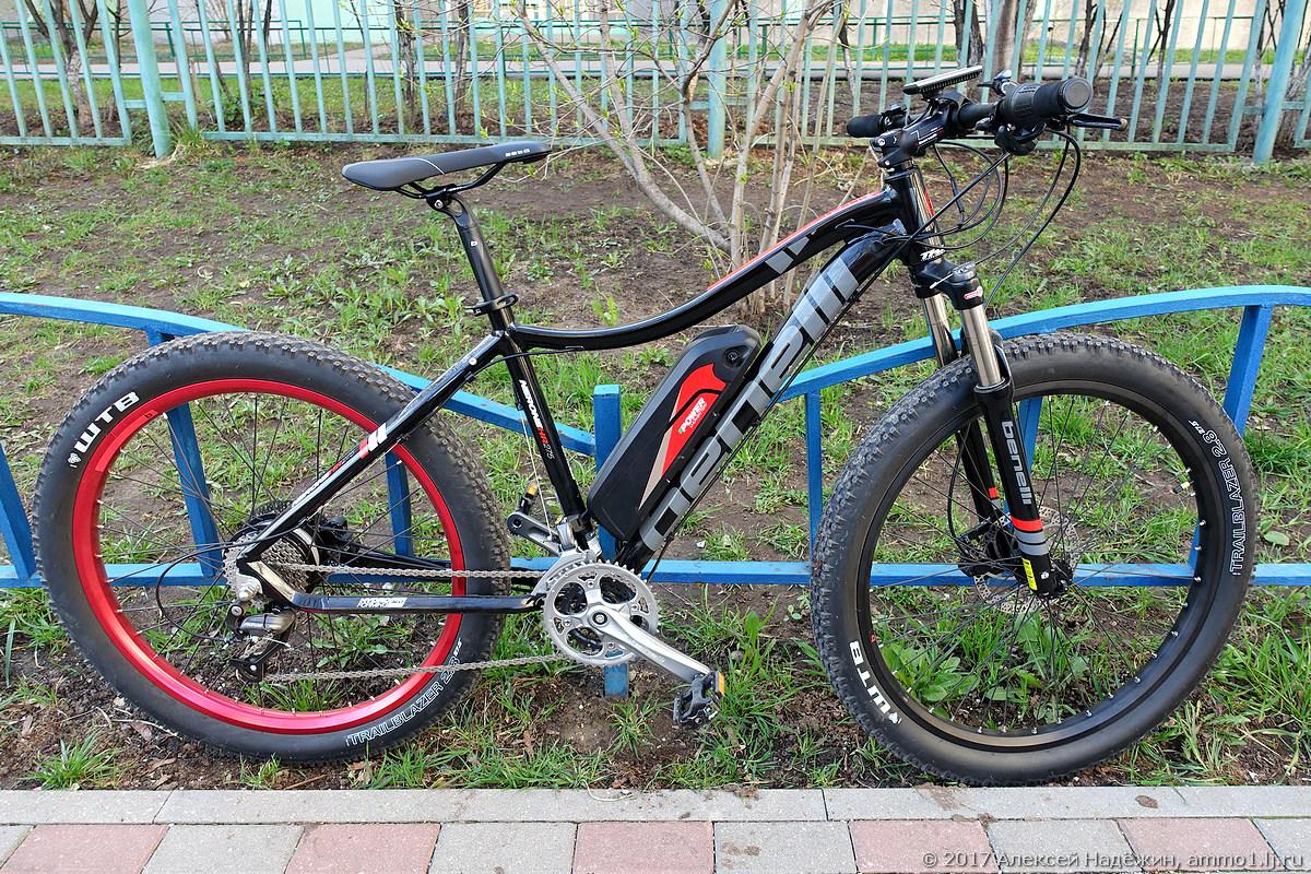 Велогибрид Benelli Fat Nerone