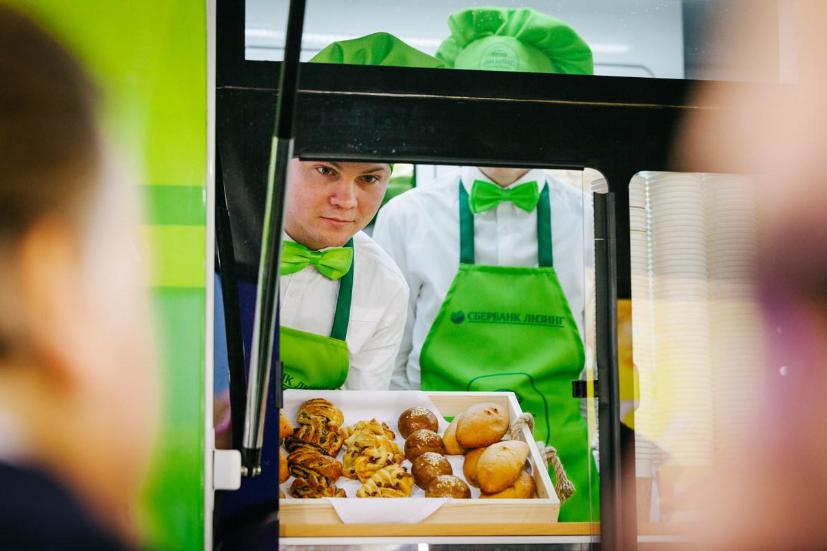 Малый бизнес заманивают пирожками