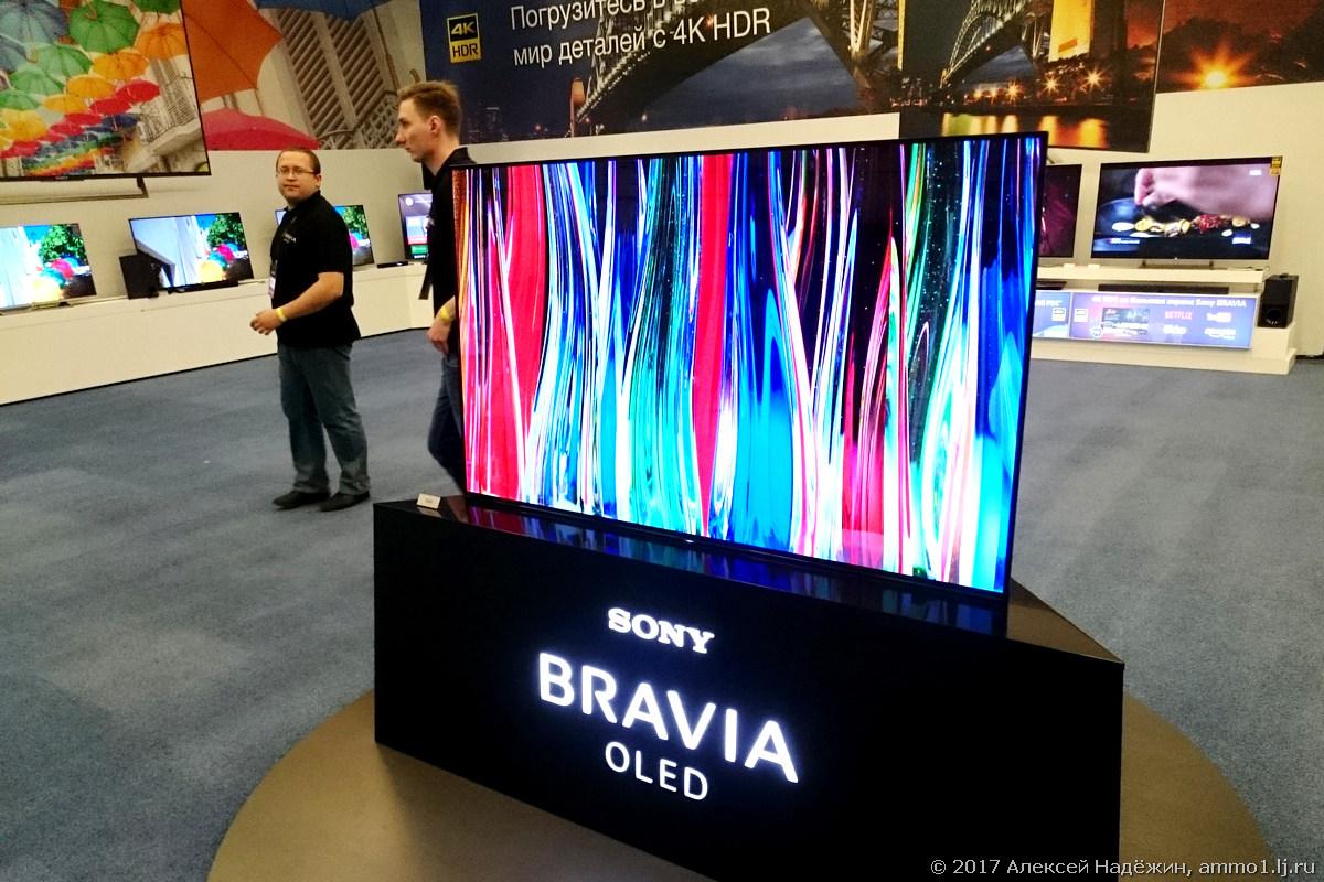 Телевизор со звучащим экраном