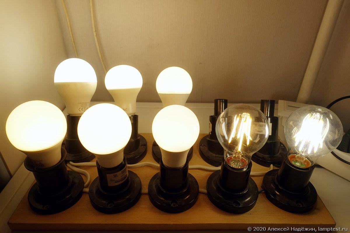 Тест старения светодиодных ламп, фотография Алексея Надёжина https://ammo1.livejournal.com/