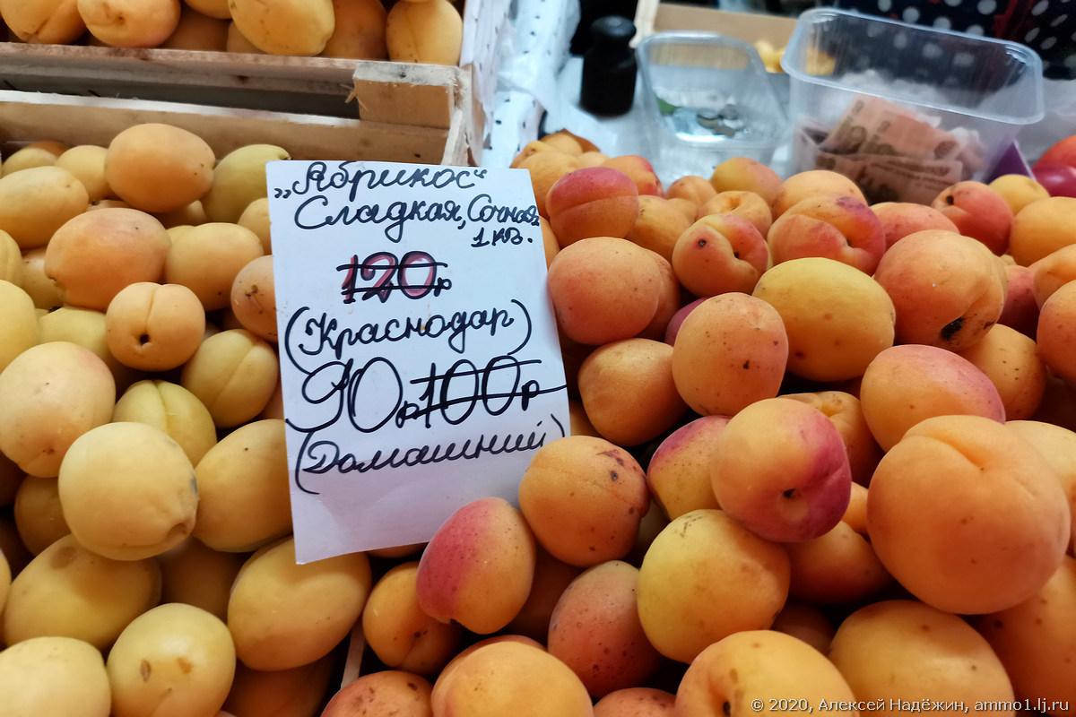 Цены на рынке Лианозово