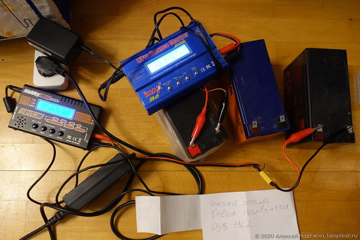Старение свинцовых аккумуляторов
